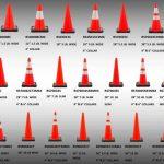 JBC Orange Traffic Cones