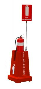 Airport Hangar Fire Extinguisher Stand CFESTAND