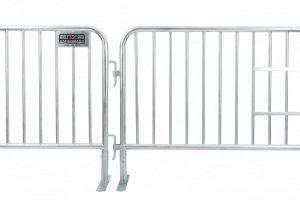 Heavy Duty Interlocking Steel Pedestrian Barricades