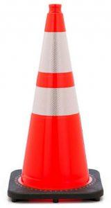 Orange Airport Safety Cone