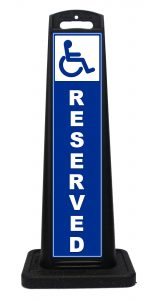 Portable Handicap Parking Space Reserved